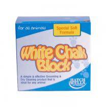 KW White Chalk Block Kreda do pielęgnacji sierści 150g
