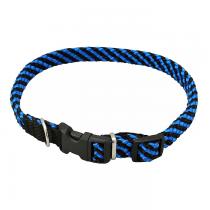 Chaba Obroża linka regulowana czarno niebieska 16mm/40cm