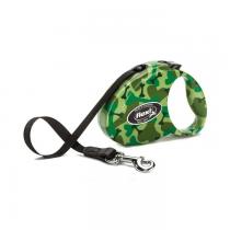 Flexi Smycz Fashion taśma camouflage 3m/12kg