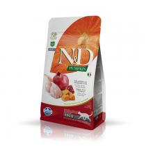 Farmina N&D GF Adult Cat Pumpkin Quail & Pomegranate 300g