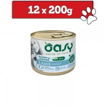 Oasy One Protein Mini Puppy puszka 200g x 12