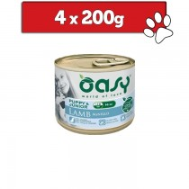 Oasy One Protein Mini Puppy puszka 200g x 4