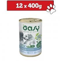 Oasy One Protein Puppy puszka 400g x 12