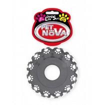 Pet Nova Opona gumowa w łapki Tire z dźwiękiem 11cm