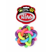 Pet Nova Piłka pleciona BellBall kolorowa z aromatem