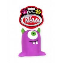 Pet Nova Potworek gumowy Monster z dźwiękiem 10cm
