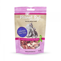 Planet Pet Chicken Fish Twist przysmak dla kota 30g