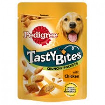 Pedigree Tasty Bites Crunchy Pocket 95g