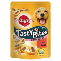 Pedigree Tasty Bites Chewy Slices 155g