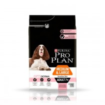 Pro Plan Medium Large Adult 7+ OptiDerma z łososiem