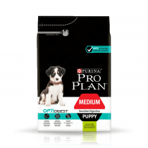 Pro Plan Medium Puppy OptiDigest z jagnięciną