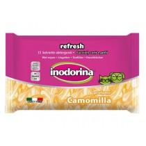 Inodorina Chusteczki Camomilla - rumianek 15 szt