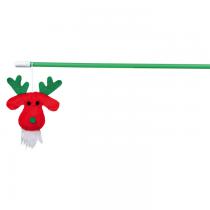Trixie Świąteczna wędka dla kota renifer 43cm