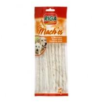 Riga Machos skręcane pałeczki białe 20cm 10szt.