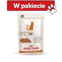 Royal Canin Vet Care Nutrition Feline Senior Consult Stage 1 100g