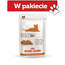 Royal Canin Vet Care Nutrition Feline Senior Consult Stage 2 100g