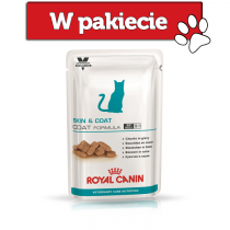 Royal Canin Veterinary Care Nutrition Feline Skin & Coat Formula 100g