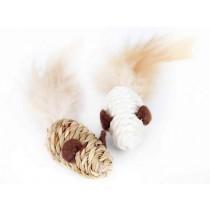 Dingo Myszki z sizalu 2szt