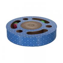 Trixie Drapak kartonowy owalny z piłkami 33cm