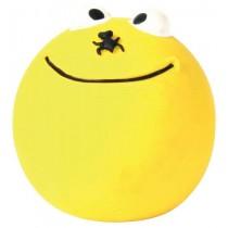Trixie Piłka lateksowa żółta - uśmiech 6cm