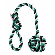 Trixie Piłka ze sznurkiem 18cm