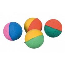 Trixie Piłki miękkie, kolorowe 4szt. 4,3cm