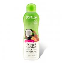 Tropiclean Berry & Coconut Szampon dogłębnie oczyszczający dla psów i kotów 355ml