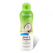 Tropiclean Lime & Coconut Pet Shampoo Szampon zmniejszający wypadanie sierści 355ml