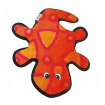 Outward Hound Invincibles Gecko pomarańczowo-różowy 2 piszczałki
