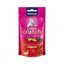 Vitakraft Kot Crispy Crunch kaczka z aronią 60g