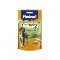 Vitakraft Pies Crunchy Cubes drób z miętą 140g