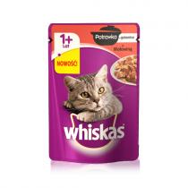 Whiskas Potrawka w galaretce 85g x 12