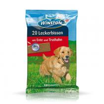 Winston Przysmak dla psa z kaczką i indykiem 20szt. 200g