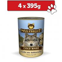 Wolfsblut Dog puszka 395g x 4