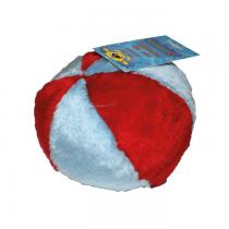 Yarro Piłka pluszowa czerwono-niebieska 12cm