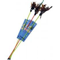 Yarro Zabawka patyk z piórkiem 32cm