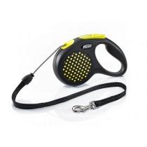 Flexi Smycz Design linka żółta
