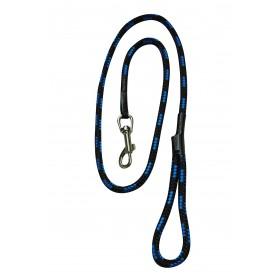 Chaba Smycz linka czarno niebieska