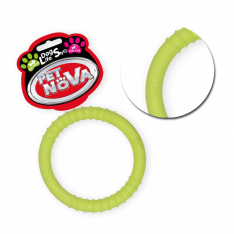 Pet Nova Ringo z gumy zielone 9,5cm