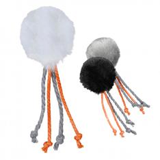 Trixie Piłka z dzwonkiem i sznurkiem 4cm