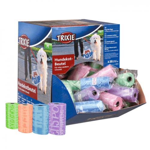 Trixie Worki kolorowe na odchody 1 rolka