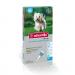Preparaty lecznicze - Advantix krople na pchły i kleszcze 4 x 1 ml  (4-10 kg)